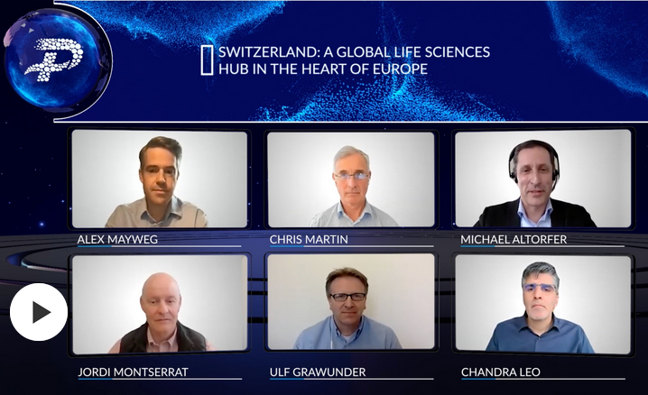 Speakers at the Wuxi Healthcare Panel Switzerland: a global life sciences hub in the heart of Europe